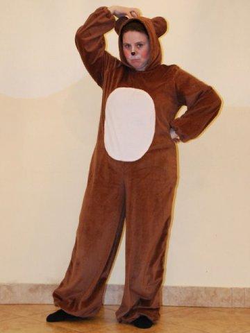 Как сделать простой костюм медведя