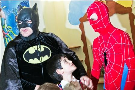 Дитяче свято за сценарієм супер герої