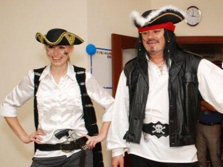 Сценарій дитячого свята пірати
