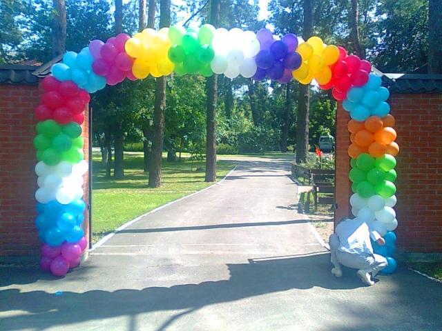 Заказать воздушные шары. Организация детских праздников